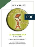 Dossier de Presse - Paris Vegan Day