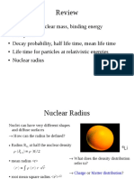 Form Factor and Nuclear Radius