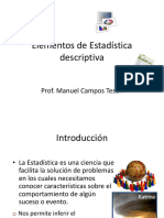 Elementos de Estadistica UPCI