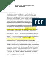 EL SISTEMA INTERNACIONAL DEL ARTE CONTEMPORÁNEO