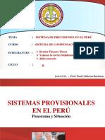 Sistema Previsionales Del Peru