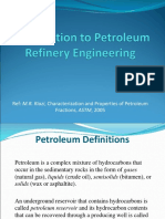 Petroleum Properties