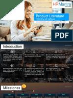 HRMantra Product Literature