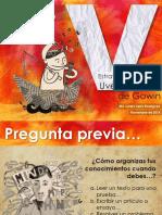 Presentación Estrategia Didáctica UVE Heurística de Gowin. Loreto Serra. 25 Nov.2014