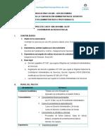 Convocatoria CAS 009 SETIEMBRE 2019 - Administrativos