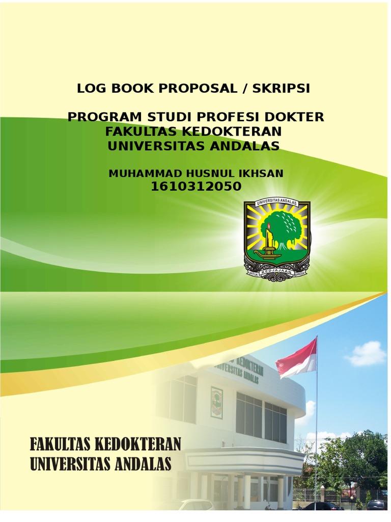 Cover Log Book Skripsi Ikhsan