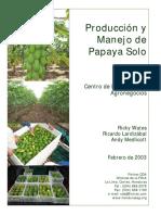 CDA Fintrac Manual Produccion Papaya 10 02 Esp