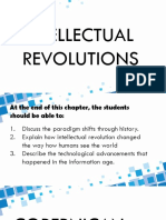 Sts Chapter 2 Intellectual Revolutions