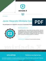 Certificado Estadistica Basica
