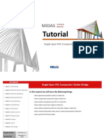 Single Span PSC-I Girder Bridge