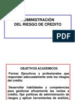 Administración del Riesgo de Crédito