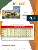 Análisis de la situación urbana de la ciudad de Chiclayo