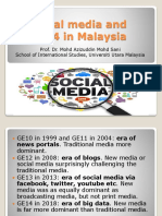 Social Media and GE14 in Malaysia