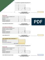 Formatos de Costos Por Procesos