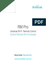 Manual Rm Pro Broadlink
