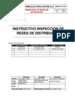 Inspeccion en redes de distribución