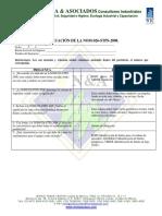 Evaluacion Nom 026 Stps 2008