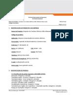 FISPQ Limpador Contatos NAO Inflamavel Quimatic