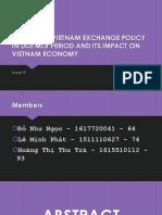 Change in Vietnam Exchange Policy