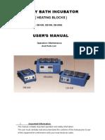 Bloque termico Gemmy Manual