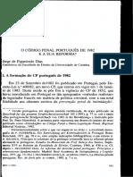 (1994) Jorge de Figueiredo Dias - O Código Penal Português de 1982 e a Sua Reforma