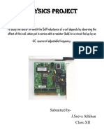 Aditya Academy Secondary Physics Project