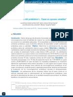 Artículo probiótico L Casei