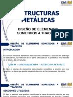 02 ESTRUCTURAS METÁLICAS - Diseño de Elementos Sometidos a Traccion