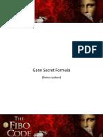 gann secret formula