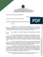 Ofício Circular 005DDP2019 - Decreto n 9991 2019