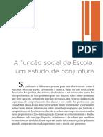 Texto Básico 02 - Função Social Da Escola
