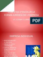 La Forma Jurídica