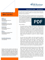 Trends in Borrowings and Advances of NBFCs and HFCs