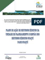 Planos de Ações de Recursos Hídricos Para as Unidades de Planejamento e Gestão de Recursos Hídricos No Âmbito Da Bacia Do Rio Doce