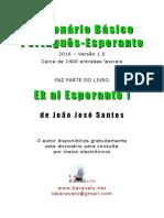 Vocabulário de Esperanto