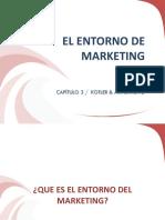 Cap. 3. El Entorno de Marketing