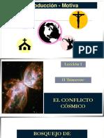 1. Conflicto Cosmico
