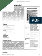 Ingeniería Industrial - Wiki