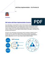 005 - Part-2  SAP Active with New Implementation – On-Premise & HEC.docx