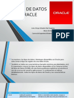 Los Tipos de Datos en Oracle