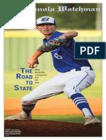 2018 Beckville Baseball State Championship Section