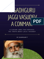 Is Sadhguru Jaggi Vasudev a Conman