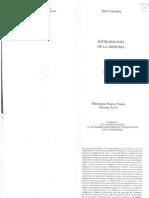 Candau, Joel - Caps.1-2 y 4-5 - Antropología de La Memoria