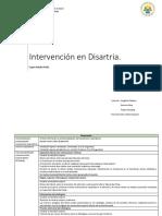 Cuadro Resumen, Intervención Disartria (Melle, Natalia)