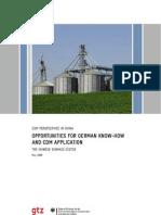 Biogas and Biomass GHG