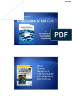 Pengenalan Manajemen Strategik