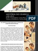 História Do Ceará II - Erick Araújo