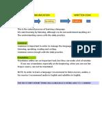 Tenses - Pronouns Overview