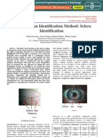 A New Human Identification Method Sclera Identification IJERTCONV3IS06030