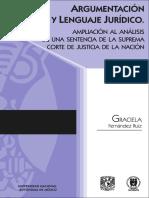 01 Argumentación y Lenguaje Jurídico - Graciela Fernández Ruiz.pdf